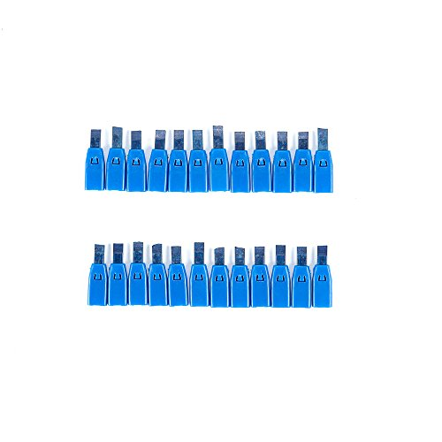 Swanson CPLBLU Black Replacement Lead Cartridges for AlwaysSharp Carpenter Pencil - 24 count