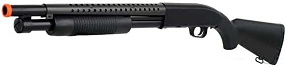 double eagle m58a tactical pump action airsoft shotgun (full stock)(Airsoft Gun)