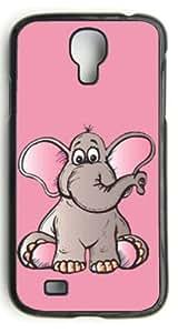 Custom Elephant Novelty Hard Case Clip on Back Cover for Samsung S4 case
