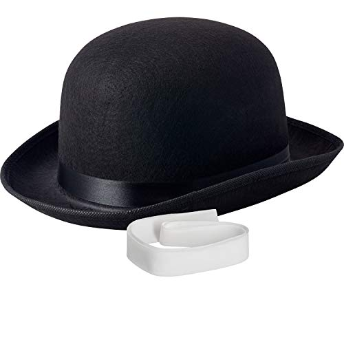 - NJ Novelty - Black Derby Hat, 5