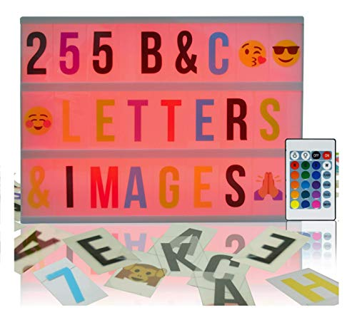 Cinema Light Box Sign is a cool gift for tweens