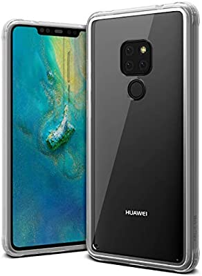 VRS Design Huawei Mate 20 Crystal Chrome cover/case - Clear