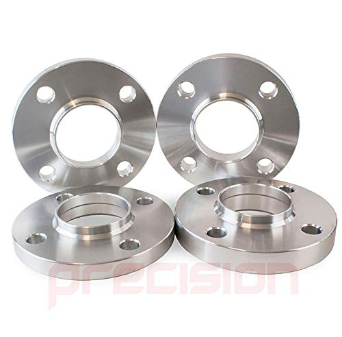 2PHS10+2PHS11146 Precision Staggered Fitment Hubcentric Alloy Wheel Spacers 15//20mm for Ŕenault Kangoo Part No