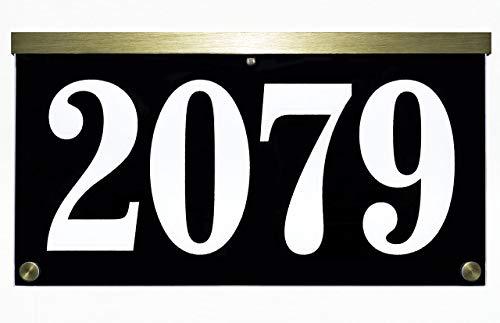 Plaque Address Holders - 12X6.5