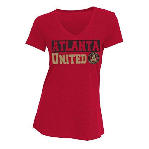 fan products of Atlanta United FC T-Shirt Ladies' Sleep Shirt (Medium)