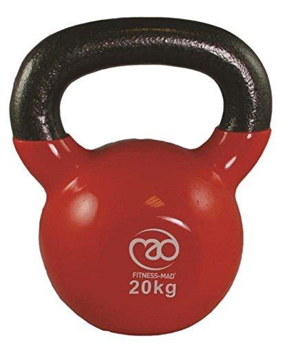 Fitness-Mad Training & Startseite-Gym Training Training Hantel Fett Verbrenunng Kugelhantel - Rot, 20kg