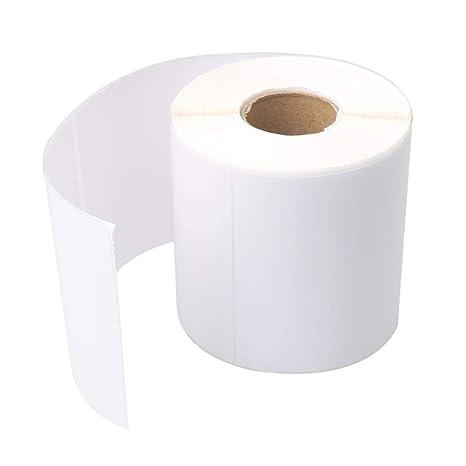 Amazon com: BQLZR 10cm Length 10cm Width White Sticker Blank