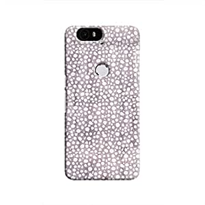 Cover It Up - Purple Pebbles Mosaic Nexus 6P Hard Case