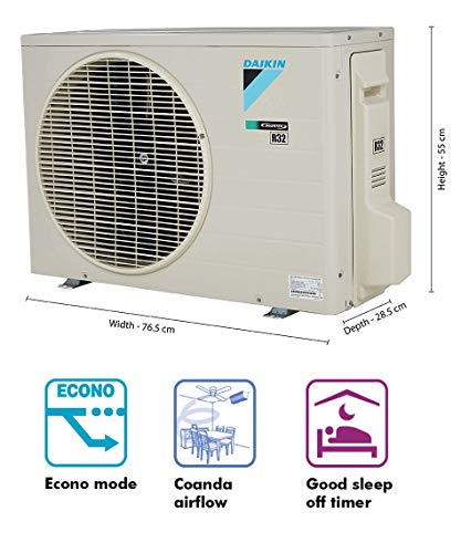 Daikin 1 Ton 5 Star Inverter Split AC (Copper FTKF35TV White)