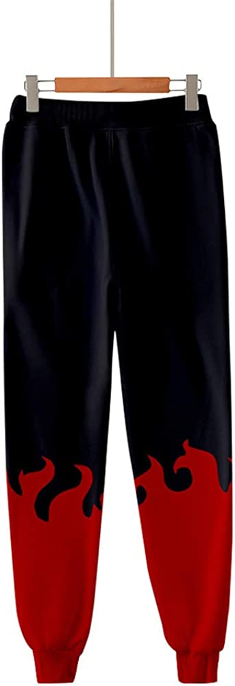 xHxttL Hombres Naruto Jogger Anime Naruto Kakashi Pantalones de Jogging Impresos en 3D Cosplay Gym Joggers Pantalones de ch/ándal de Ajuste Regular Pantalones Deportivos Casuales