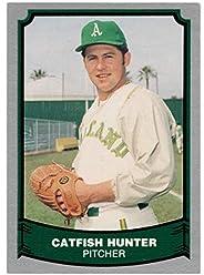 Catfish Hunter - Oakland A's (Baseball Card) 1988 Pacific Legends I # 16