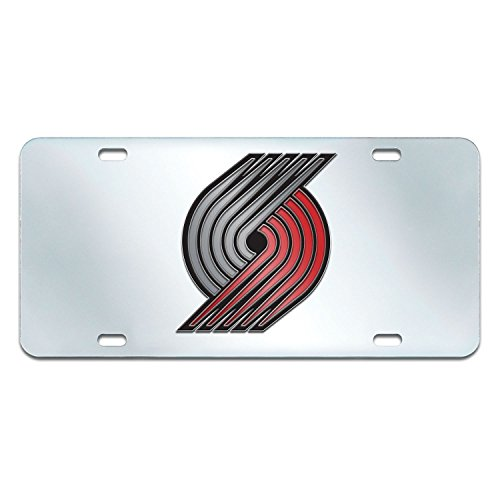 Fanmats NBA Portland Trail Blazers License Plate-Inlaid 6x12 by Fanmats