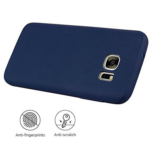 Funda Galaxy S6 , SpiritSun Soft TPU Silicona Handy Candy Carcasa Funda para Samsung Galaxy S6 (5.1 Pulgadas) Suave Silicona Piel Carcasa Ultra Delgado y Ligero Goma Flexible Phone Case Cover - Rojo Azul