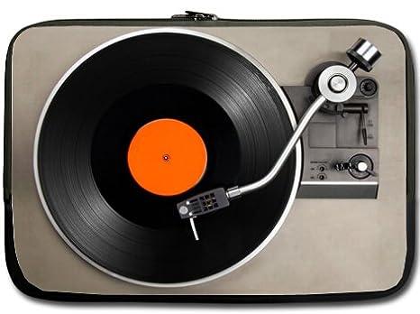 Hermoso diseño disco de vinilo Tocadiscos Macbook, Macbook ...