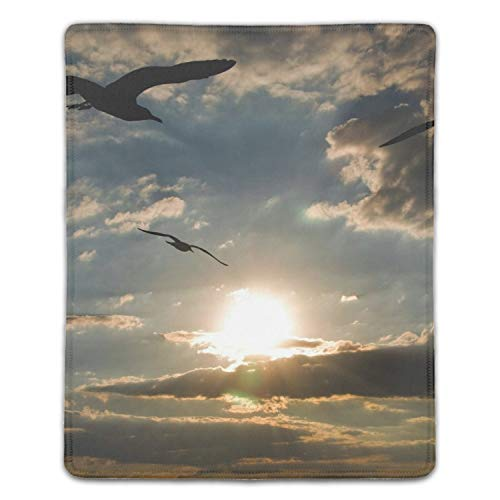 Animals Birds Geese Mousepad Game Office Thicker Mouse Pad Decorated Mouse Mat -8.66 x 7.08 inch