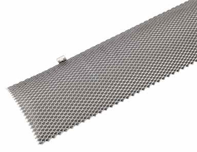 Amerimax Hinged Gutter Guard 6 '' X 3 ' Stainless Steel