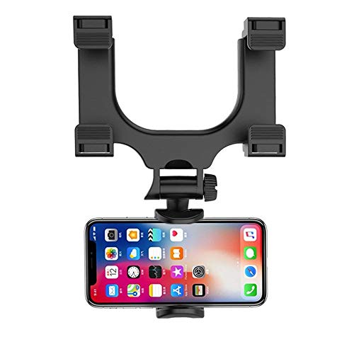 Hot Sale!UMFun Universal Auto Car Rearview Mirror Mount Stand Holder Cradle For Cell Phone -