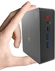 $228 » Beelink U55 Mini PC Windows 10 Pro Intel Core i3-5005U Processor 8GB/128GB SSD, 4K HD Dual HDMI USB 3.0 Port Dual Band WiFi Gigabit Ethernet