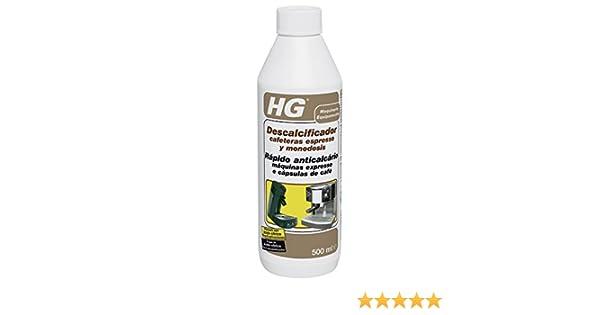 Hg Spain. 323050130=323050109 - Descalcificador limp ap.vapor cafeteras express hg 500 ml