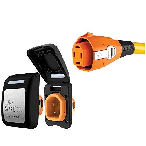 Smartplug Systems, Llc 016-02-1076 B50ASSYPB Smartplug 50 Amp Combo Kit