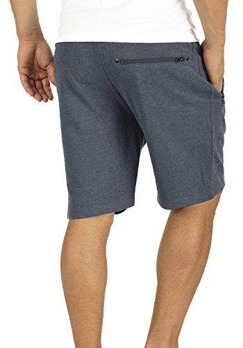 Blue Homme Pantalon 8991 solid Court Taras Sweat Jogging Pour Short Insignia En Bermuda Melange fnHYzaf