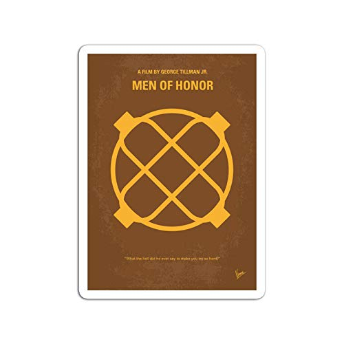 BreathNenStore Sticker Motion Picture No099 My Men of Honor Minimal Movie The Story O Movies Video Film (3