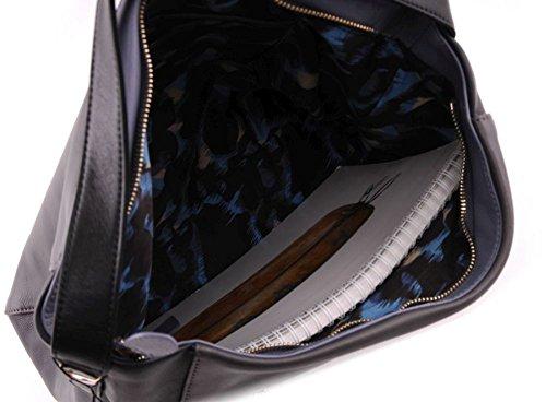 CINQUE Fabiola - Schultertasche in grau / dunkelblau kpXnD