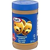 KRAFT Peanut Butter, Unsweetened/Unsalted