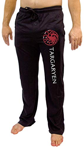f3e96e1b8fc Game of Thrones House of Men s Pajama Pant Costume Adult Lounge Targaryen LG
