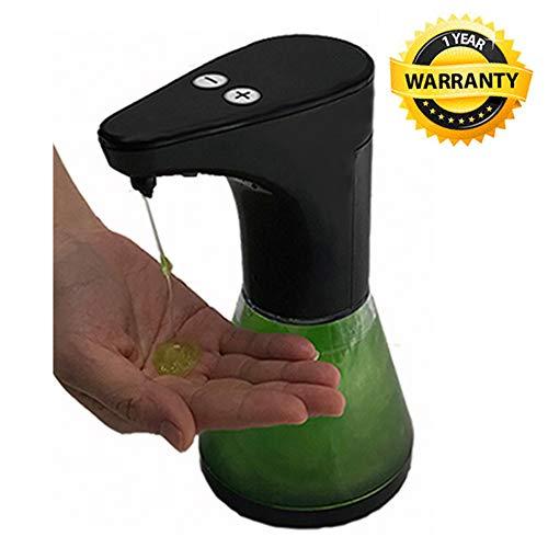 500ml dispenser sapone liquido automatico - Infrarosso Dispenser per sapone automatico con controllo della schiuma regolabile a 5 livelli, dispenser sapone automatico dosatore sapone liquido automatico SYITECH