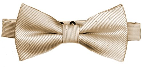 - Flairs New York Little Gentleman's Kids Bow Tie (Rose Gold [Glitter Dots])
