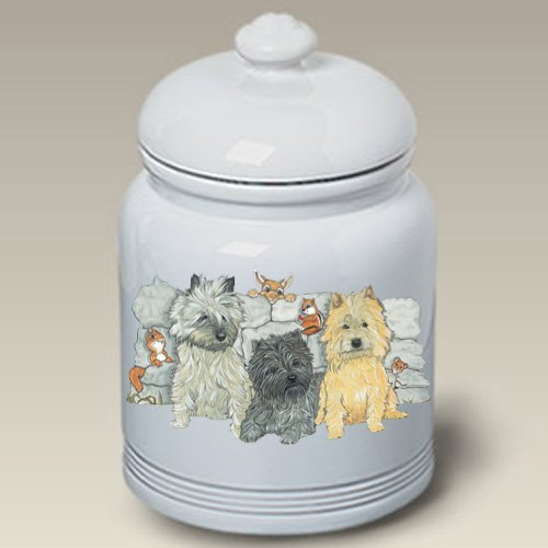 Cairn Terriers - Best of Breed Treat Jars