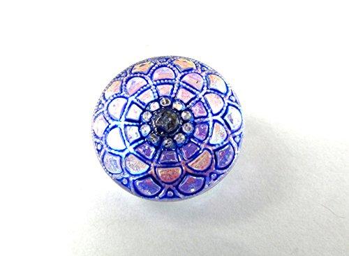 - Hand Made Art Czech Glass Buttons