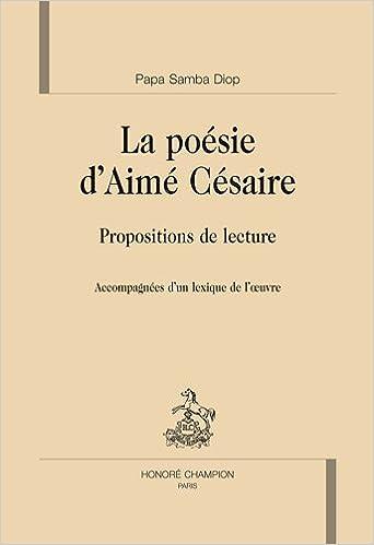 La Poésie Daimé Césaire Propositions De Lecture