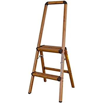 Amerihome 700367 Lightweight Aluminum Step Ladder 2 Step