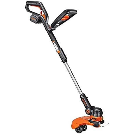 WORX 32 Volt GT2 0 String Trimmer Edger Mini Mower With Tilting Head And Single Line Feed