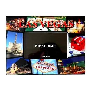 Amazon Las Vegas Picture Frame 4x6 Red Las Vegas Picture