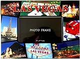 Cheap Las Vegas Picture Frame – 4X6 Red, Las Vegas Picture Frames, Souvenirs