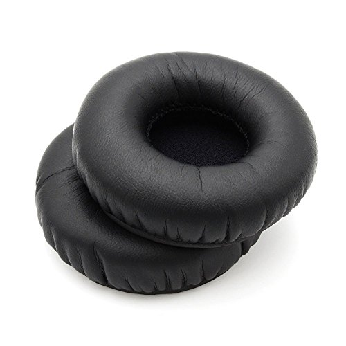 Yxmiwqya Leather Replacement Ear Pads Pillow Earpads Foam Cushions Cover Cups For Telex Airman 750 Aviation Headset Headphones