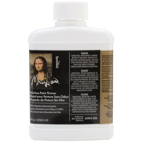 Speedball Art Products 190008 8-Ounce Mona Lisa Odorless Paint Thinner by Speedball