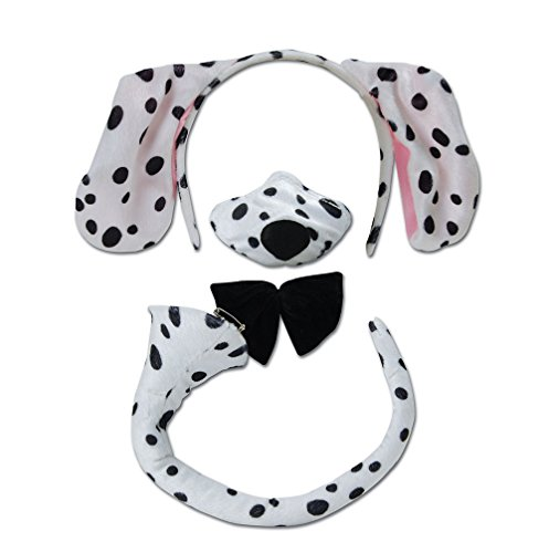 [Children's Dalmatian Set With Sound] (Dalmatian Ears)