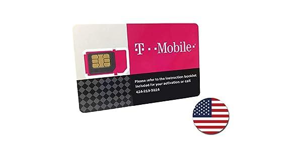 Amazon.com: T-Mobile tarjeta SIM de Prepago ilimitados ...
