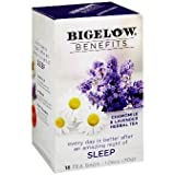 Bigelow Benefits – Chamomile & Lavender Herbal Tea, Pack of 3