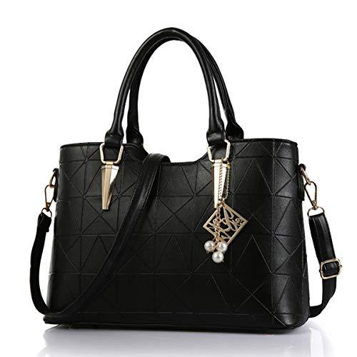 Exull a Shopper tracolla Shopping Top da Pu Tote Borsa studenti 1319 pelle per in donna Smart Bag Borsa Manico A Spalla vzqwYE