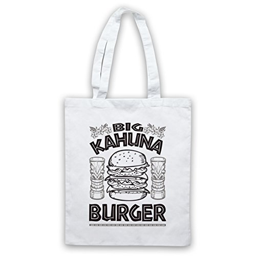 Inspired by Pulp Fiction Big Kahuna Burger Unofficial Tote Bag White