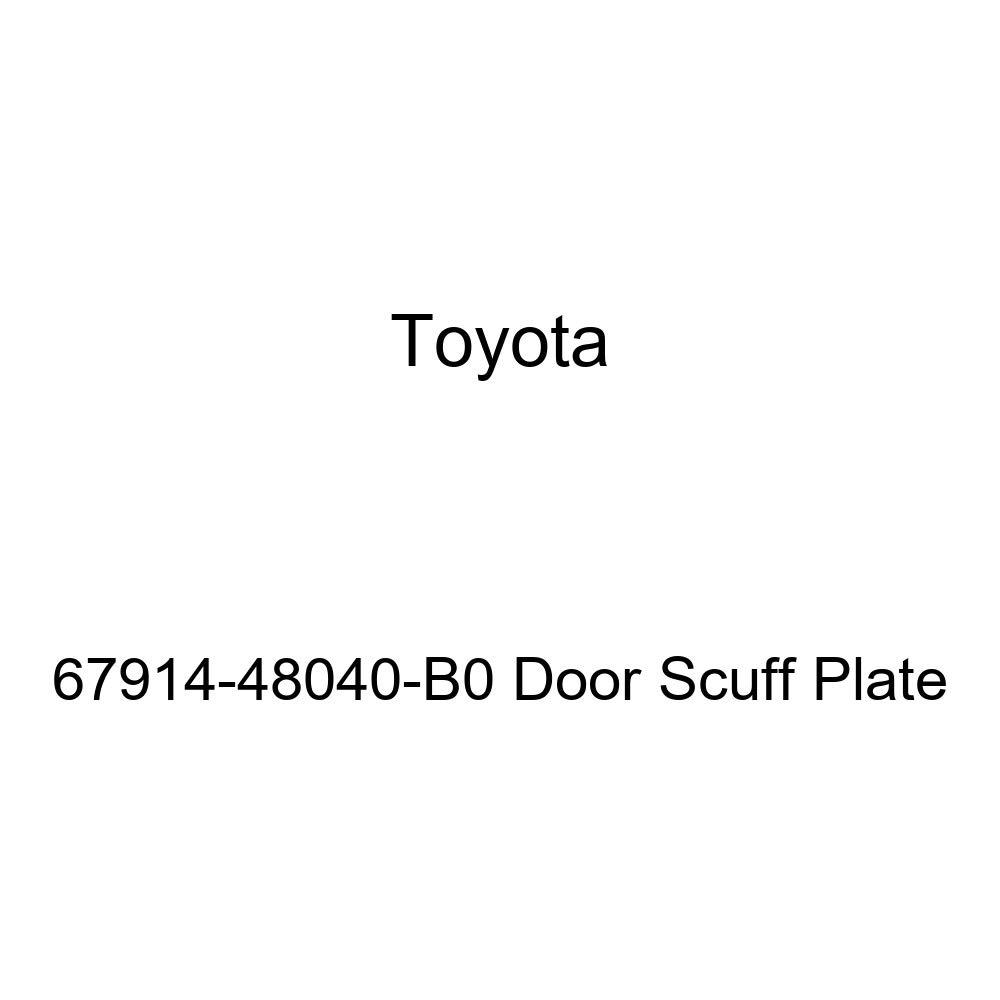 TOYOTA Genuine 67914-48040-B0 Door Scuff Plate