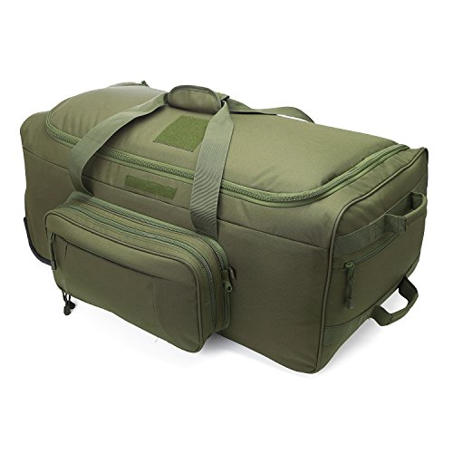 WolfWarriorX Wheeled Deployment Bag, Load-Out X-Large Bag, Heavy-Duty Camping Bag, Travel Duffels - Deployment Bag