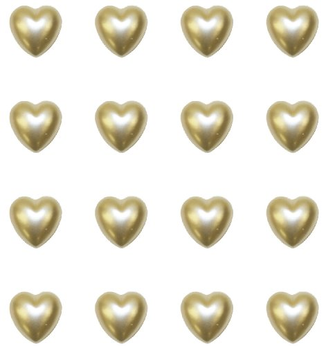Jolee's Boutique Dimensional Bling Stickers, Pearl Hearts