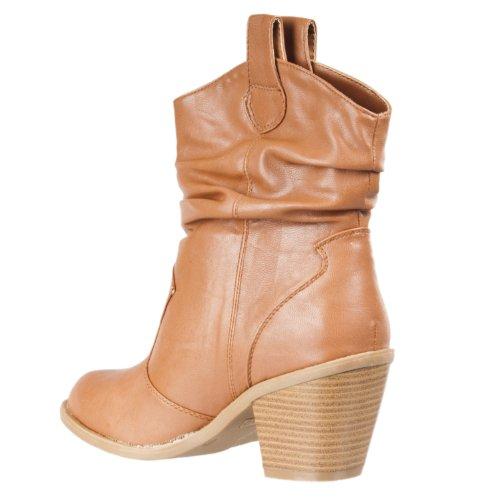 Stivali Da Cowboy Di Moda Stile Western Latisha Da Donna Di Bambù