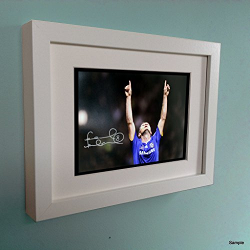 Kitbags & Lockers Signed White Chelsea Frank Lampard Autographed Photo Photograph Picture Frame